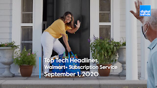 Top Tech Headlines | 9.1.20 | Walmart Unveils Prime-Like Subscription Service