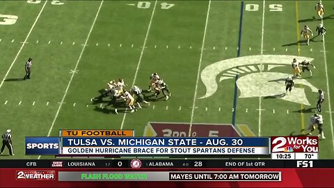 Tulsa Football gearing up for physical Michigan State Defense; Jalen Hurts says he's not the same QB he was at Alabama