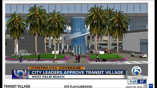 West Palm Beach transit village gets go-ahead - Video