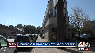 Starbucks plans to open store in Brookside - Video