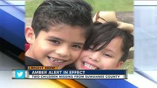 Amber Alert issued for two Florida children, officials say there may be 13 suspects - Video