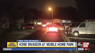 Suspects hold two people at gunpoint during Tampa home invasion