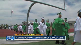 Cutting down on senior year of high school costs - Video