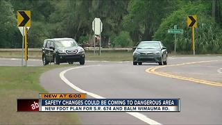 FDOT aims to fix SR 674/Balm-Wimauma Rd after four road deaths - Video