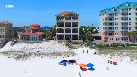 Rent This Gigantic Mansion on a Private Beach in Florida