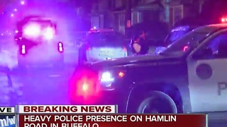 Buffalo police respond to reported shooting in Hamlin Park - Video