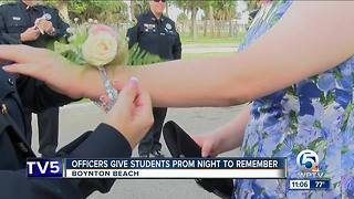 Boynton Beach police officers give special needs students a prom to remember