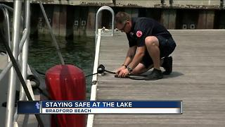 Staying safe at the lake - Video