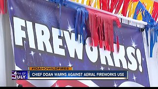 Boise fire chief warns against aerial fireworks