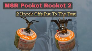 MSR Pocket Rocket 2 Clone Tested Under $12 Cheap Camping and Backpacking Stove