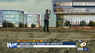 Chula Vista writing the book on Amazon - Video