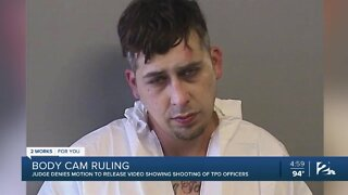 Judge denies motion to release video showing shooting of TPD officers