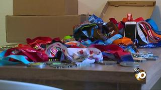 Medals stolen from moving boxes in Pacific Beach - Video