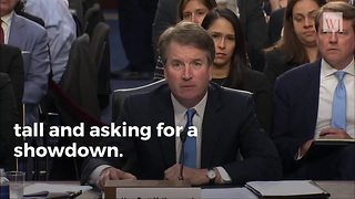 Kavanaugh Releases Statement After Accuser Identifies Herself. He Isn't Backing Down.