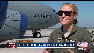 Female pilot at MacDill AFB talks about her unique career ahead of Tampa Bay AirFest 2018
