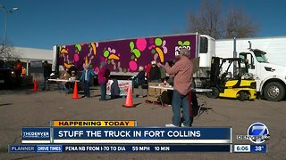 Stuff the truck in Fort Collins