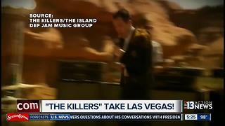 The Killers show Las Vegas some love - Video