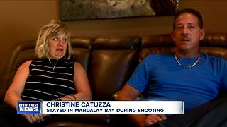 Amherst couple recounts experience during Vegas shooting--5pm - Video