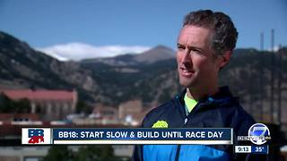 BB18 Week 1: Time to get moving if you're training for the BolderBOULDER - Video