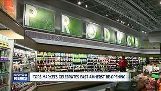 Tops celebrates grand re-opening at East Amherst location
