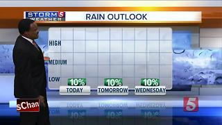 Lelan's Morning Forecast: Monday, July 17, 2017 - Video