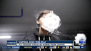 Researchers worry vaping could make flu season worse