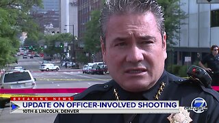 Denver police chief says 1 person dead in rush-hour officer-involved shooting