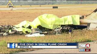 Five Dead in Small Plane Crash - Video