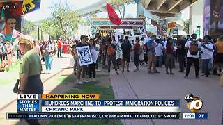March held to protest immigration policies
