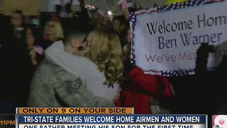 Tri-State families welcome home airmen and women