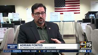 First major test for Maricopa County's recorder, Adrian Fontes - Video