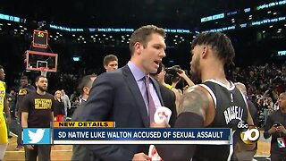 San Diego native Luke Walton sued for sexual assault