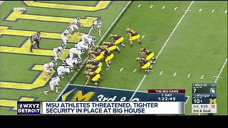 MSU, East Lansing police receive threats against athletic events - Video