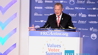 Conservative voters and organizations gathered this week in Washington, DC for the 2017 Values Voters Summit... - Video