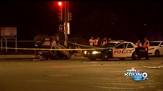10-year-old dies in eastside rollover crash - Video