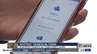 Golden Knights tickets sell out in seconds