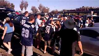 NFL Parking lot Brawl - Chargers Vs Cowboys! - Video