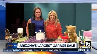 Check out Arizona's biggest garage sale - Video