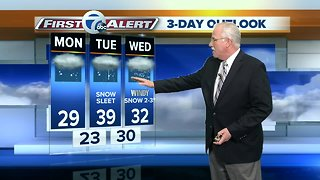 Another messy mix expected this week by Tuesday - Video