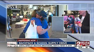 Backpack and School Supplies Drive 3