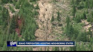 Idaho firefighters help battle southwest fires - Video