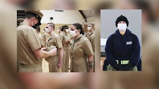 Perry Hall woman with two Master's degrees training to become Navy Officer