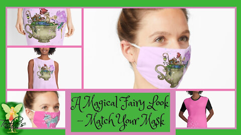 A Magical Fairy Look – Match Your Mask