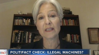 PolitiFact Wisconsin: Illegal machines? - Video