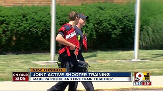 Madeira police and firefighters train for active shooter response