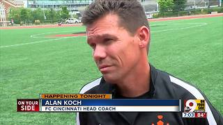 FC Cincinnati playing New York Red Bulls - Video