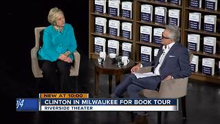 Hillary Clinton praises Democrat victories during book tour - Video