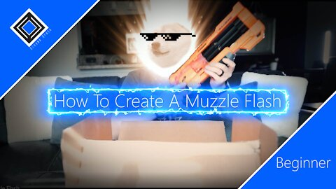 How to create a muzzle flash in Adobe After Effects