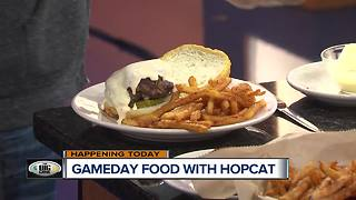 Game Day Food With HopCat