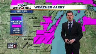 Winter Weather Advisory for tonight into Saturday morning